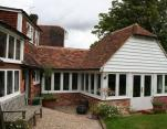 grade 2 listed cottage extension Goudhurst